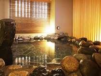 ■男性大浴場岩風呂