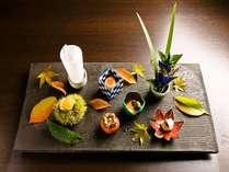 【前菜】ひとつひとつの小鉢に、職人のこだわりが灯る。