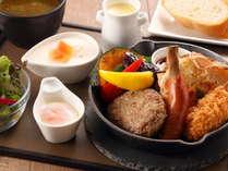 朝食(洋食プレート)イメージ