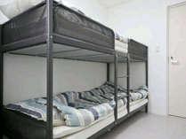 限定1部屋!二段ベッドルーム
