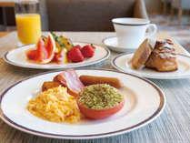 クラブラウンジ朝食
