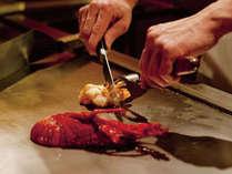 日本食「雅庭」鉄板焼きイメージ