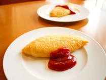 「ブリッジ」朝食・オムレツ