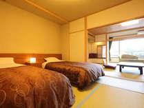 ●リニューアルルーム【輝 - KAGAYAKI- 】和室10畳+6畳和ベッドルーム●ひびき野旬菜会席