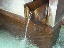 日本の名湯百選にも選ばれた、温泉通も納得の良質な温泉を惜しみなく。