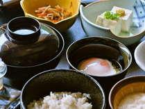 ヘルシーな和食膳で心地よい一日のスタートを