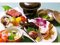 至福の会席料理(伊勢海老・熊野牛フィレ肉)