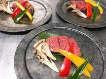メインは熊野牛フィレ肉
