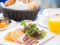 【朝食】卵プレート ふわとろスクランブルエッグ♪