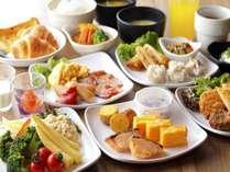 朝食ブッフェ一例