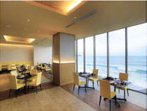 【レストラン】海が見える気持ちの良いレストラン