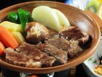 【夕食】贅沢上州の味覚!上州牛ステーキ。