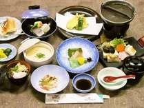 【春得タイムセール】 ブリと水菜の鍋 軽会席 + お茶漬けバイキング 一泊2食付き