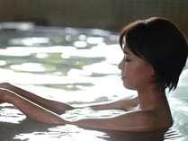 当館の100%源泉掛け流しの温泉は、お肌が喜びますよ♪