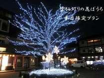 ★2月平日限定★ 雲仙灯りの花ぼうろ開催!! インスタ映えスポット有り♪