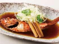 地魚『あらかぶ(カサゴ)の煮付け』会席プラン