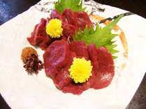 ◆トップシーズン◆地元食材&季節の味覚を美味しく食べよう♪会津名物「馬刺し」付きプラン