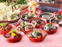 <3月~5月限定>会津のふるさと料理フェア♪創作バイキング*ダイニング川長ぷらんっ!【平日2食付】