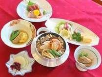 【2食付】美味しい釜飯夕食 + 朝食プラン