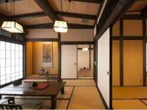 【和楽亭】広い純和風の客室で、いつもより贅沢に。