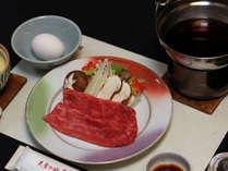 【秋限定】 南信州牛と松茸のすき焼き