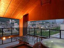 7階展望台浴場『夢見の湯』露天風呂