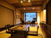 千遊館コンフォート客室「燈AKARI」60平米