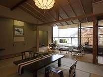 「燈火亭」露天風呂付き客室Aタイプ 10畳