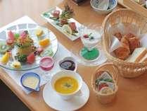 【個室朝食】洋食