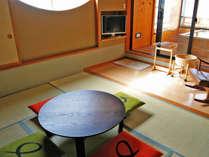 「千遊館」露天風呂付き客室10畳+6畳