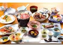 地元食材と旬の食材を楽しむ
