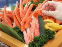 【7月・8月限定】ずわい蟹の足&ローストビーフ食べ放題♪ディナービュッフェ付★今ならドリンク特典付