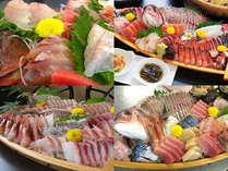 わすけ自慢の舟盛り!季節により、盛り込む魚は変わります。