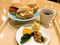朝食のイメージ 朝4:00~9:00まで