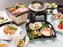 *夕食一例-米沢牛石焼きプラン
