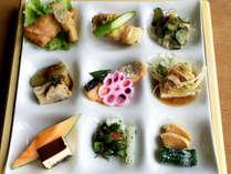 *朝食一例/様々な種類のおかずを少しずつ♪ほかほかのご飯と一緒にどうぞ。
