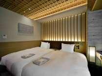 【客室】ツインルーム/120cmベッド×2台/ファミリーにオススメ!