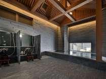 【9階・大浴場・男湯】男性浴場にはサウナも完備しております。