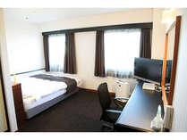 【洋室】Lルーム/禁煙、広さ19平米、160cm幅ベッド