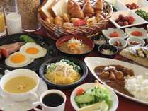 【朝食】約30種類の和洋バイキング♪時間6:30~9:00