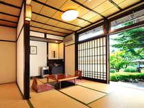 和室14畳一間 - 客室全てに掘りごたつ、プラズマクラスター、除湿機が完備され快適です!