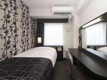 ■シングルルーム■広さ9平米/ベッド1台・幅100cm