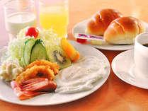 【朝食】洋朝食の一例です。※ご予約状況によりバイキングで提供となる場合あり