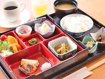 【朝食】和朝食の一例です。※ご予約状況によりバイキングで提供となる場合あり