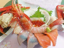 夕食は最北の海の幸を贅沢に☆海鮮丼(夕朝食付)