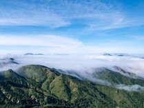 横手山山頂からの雲海は圧巻!!