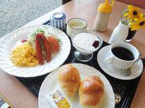 【朝食一例】~洋食~和食又は洋食をお選びください。小学生高学年~大人向け