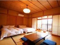 【せり】新館和室10畳+広縁(ベッド付)