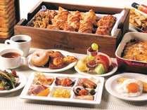 50種類以上の朝食バイキング(洋食)