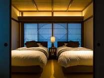 遊季亭ベッドルーム